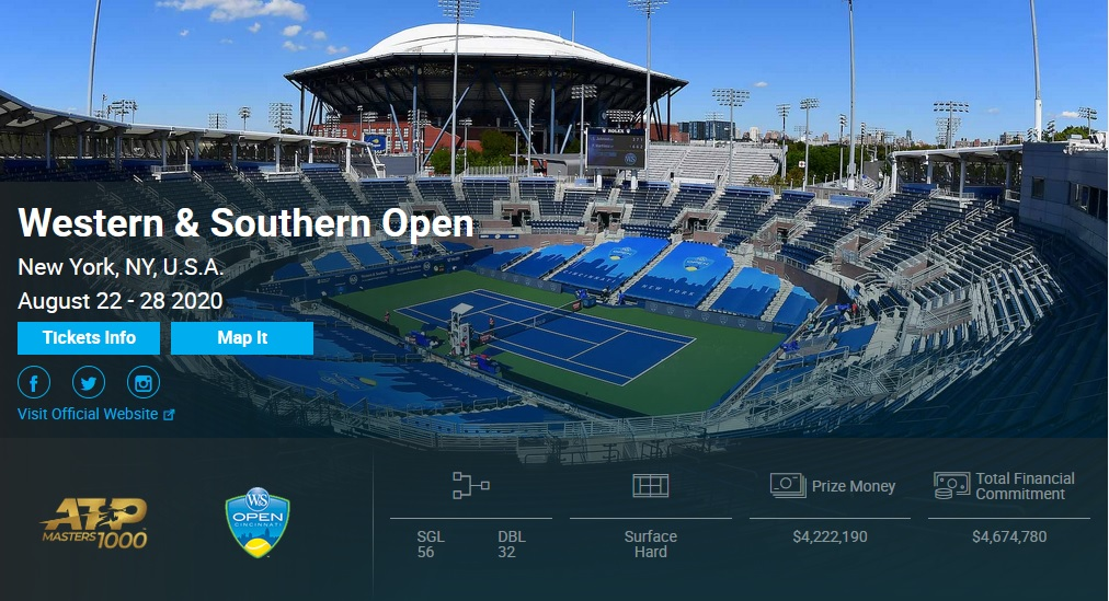Western Southern Open, New York